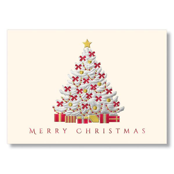 Bold christmas tree greetings holiday card greeting cards hrdirect bold christmas tree greetings holiday card m4hsunfo