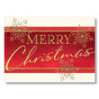 Bold Merry Christmas Holiday Card