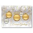 Festive Ornaments Holiday Card