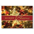 Classic Christmas Greetings Holiday Card
