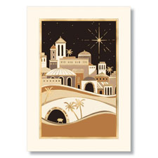 Christmas in Bethlehem Holiday Card