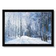 Winter Road Holiday Card
