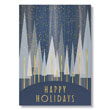 Modern Holiday Forest Holiday Card