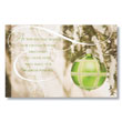 Green-ing Ornament Holiday Card