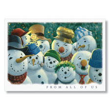 Frosty Cheer Holiday Card