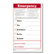 Safety Posters Ensure That Your Preparedness Plan Includes Fast Access To Critical Emergency Information!