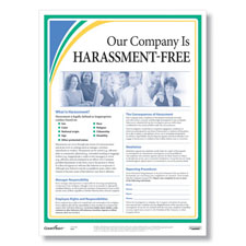 Anti-Harassment Workplace Poster