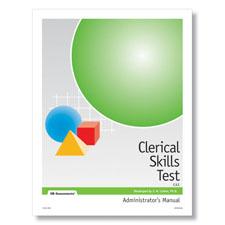 Clerical Skills Online Test