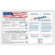 E-Verify / Right to Work Poster Guard 1 Year Service