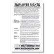 Notice to Workers with Disabilities Poster Guard 1 Year Service