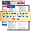 Get federal, state and local labor law posting compliance for Alaska with Poster Guard® Compliance Protection