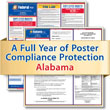 Get federal, state and local labor law posting compliance for Alabama with Poster Guard® Compliance Protection