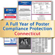 Get federal, state and local labor law posting compliance for Connecticut with Poster Guard® Compliance Protection