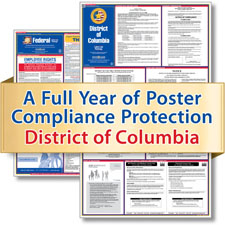 Washington, D.C. Labor Law Poster Service