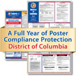 Get federal, state and local labor law posting compliance for Washington, D.C. with Poster Guard® Compliance Protection