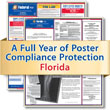 Get federal, state and local labor law posting compliance for Florida with Poster Guard® Compliance Protection