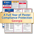 Get federal, state and local labor law posting compliance for Georgia with Poster Guard® Compliance Protection