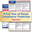 Get federal, state and local labor law posting compliance for Hawaii with Poster Guard® Compliance Protection