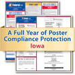 Get federal, state and local labor law posting compliance for Iowa with Poster Guard® Compliance Protection