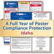 Get federal, state and local labor law posting compliance for Idaho with Poster Guard® Compliance Protection