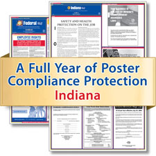 Indiana Labor Law Poster Service