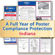 Get federal, state and local labor law posting compliance for Indiana with Poster Guard® Compliance Protection