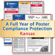 Get federal, state and local labor law posting compliance for Kansas with Poster Guard® Compliance Protection