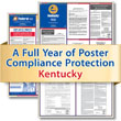 Get federal, state and local labor law posting compliance for Kentucky with Poster Guard® Compliance Protection