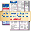 Get federal, state and local labor law posting compliance for Louisiana with Poster Guard® Compliance Protection