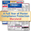Get federal, state and local labor law posting compliance for Maryland with Poster Guard® Compliance Protection