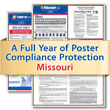 Get federal, state and local labor law posting compliance for Missouri with Poster Guard® Compliance Protection