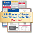 Get federal, state and local labor law posting compliance for Montana with Poster Guard® Compliance Protection