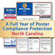 Get federal, state and local labor law posting compliance for North Carolina with Poster Guard® Compliance Protection