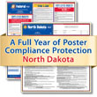 Get federal, state and local labor law posting compliance for North Dakota with Poster Guard® Compliance Protection