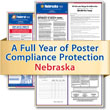 Get federal, state and local labor law posting compliance for Nebraska with Poster Guard® Compliance Protection