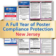 Get federal, state and local labor law posting compliance for New Jersey with Poster Guard® Compliance Protection