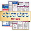Get federal, state and local labor law posting compliance for Nevada with Poster Guard® Compliance Protection
