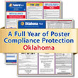 Get federal, state and local labor law posting compliance for Oklahoma with Poster Guard® Compliance Protection