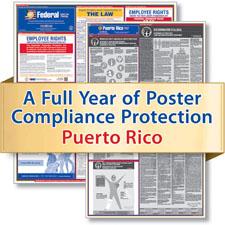 Puerto Rico Labor Law Poster Service