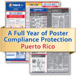 Get federal, state and local labor law posting compliance for Puerto Rico with Poster Guard® Compliance Protection