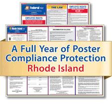 Rhode Island Labor Law Poster Service