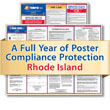 Get federal, state and local labor law posting compliance for Rhode Island with Poster Guard® Compliance Protection