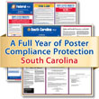 Get federal, state and local labor law posting compliance for South Carolina with Poster Guard® Compliance Protection