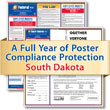 Get federal, state and local labor law posting compliance for South Dakota with Poster Guard® Compliance Protection