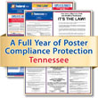 Get federal, state and local labor law posting compliance for Tennessee with Poster Guard® Compliance Protection
