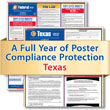 Get federal, state and local labor law posting compliance for Texas with Poster Guard® Compliance Protection