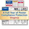 Get federal, state and local labor law posting compliance for Virginia with Poster Guard® Compliance Protection