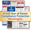 Get federal, state and local labor law posting compliance for Washington with Poster Guard® Compliance Protection