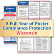 Get federal, state and local labor law posting compliance for Wisconsin with Poster Guard® Compliance Protection