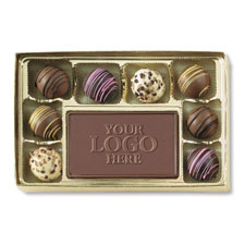 Truffle Box with Solid Center